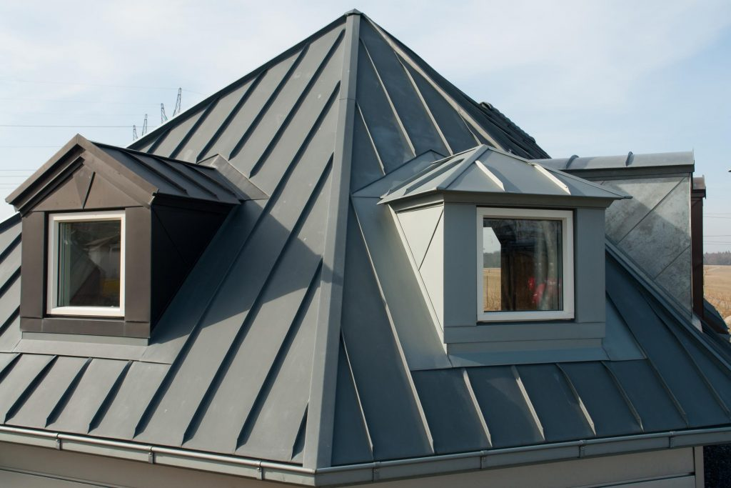 house with window attics